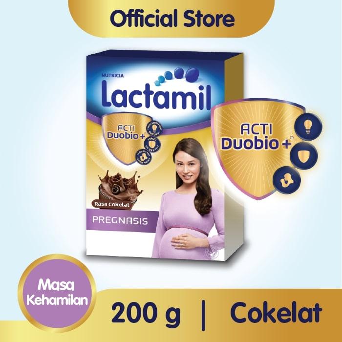 Lactamil Pregnasis Cokelat Susu Ibu Hamil 200 g