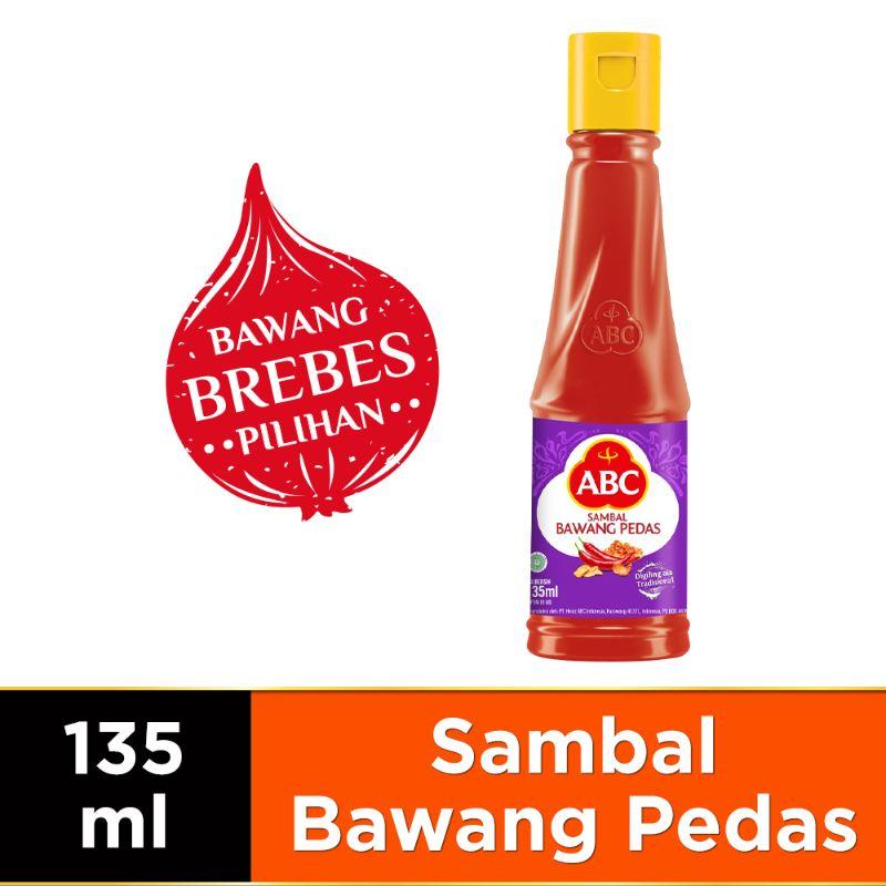 ABC Sambal Bawang Pedas 135 ml