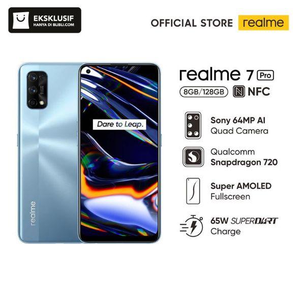 realme 7 Pro Smartphone 8 GB 128 GB Official Store realme Buds Q realme E Card BRIZZI Telkomsel Starterpack