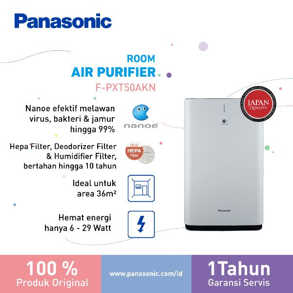Panasonic F PXT50AKN Air Purifier