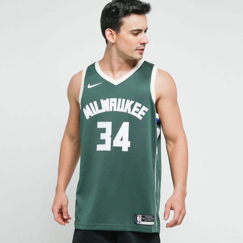 Milwaukee Bucks Jersey / Green Nike Giannis Antetokounmpo ...