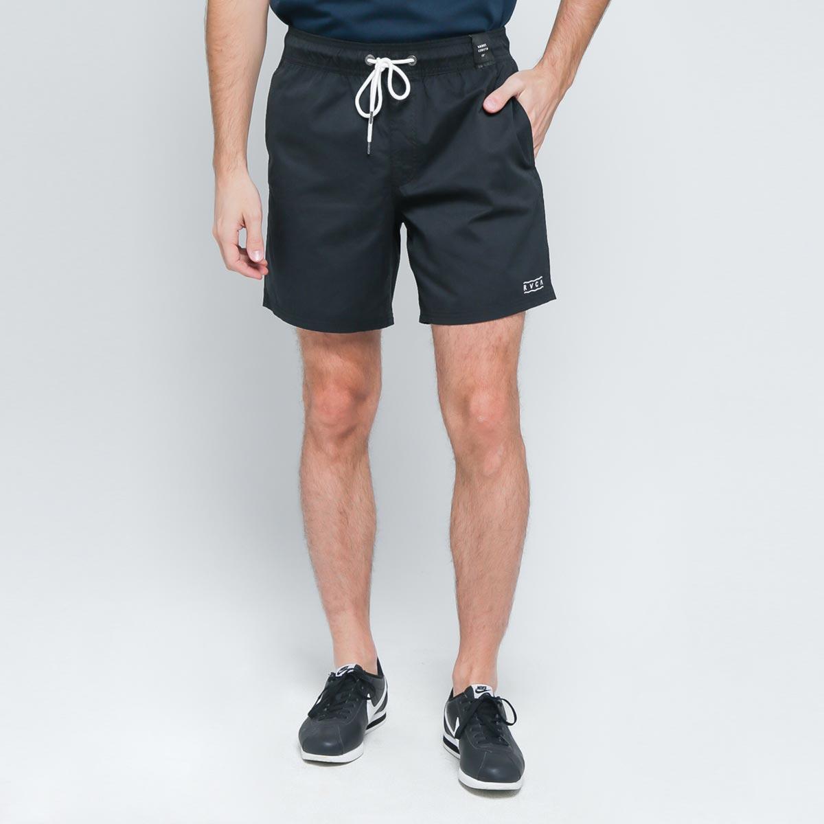 RVCA Gerrard Elastic Short Pants Black