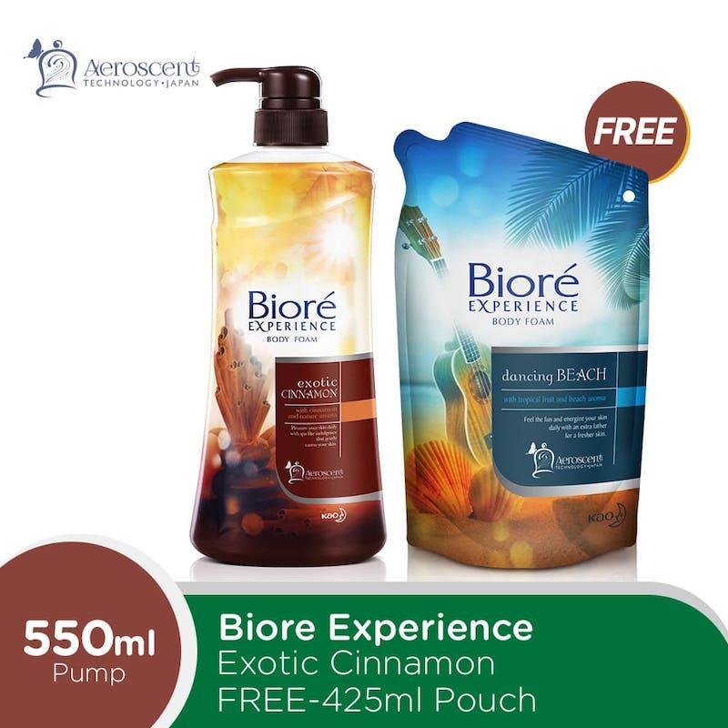 Biore Experience Exotic Cinnamon