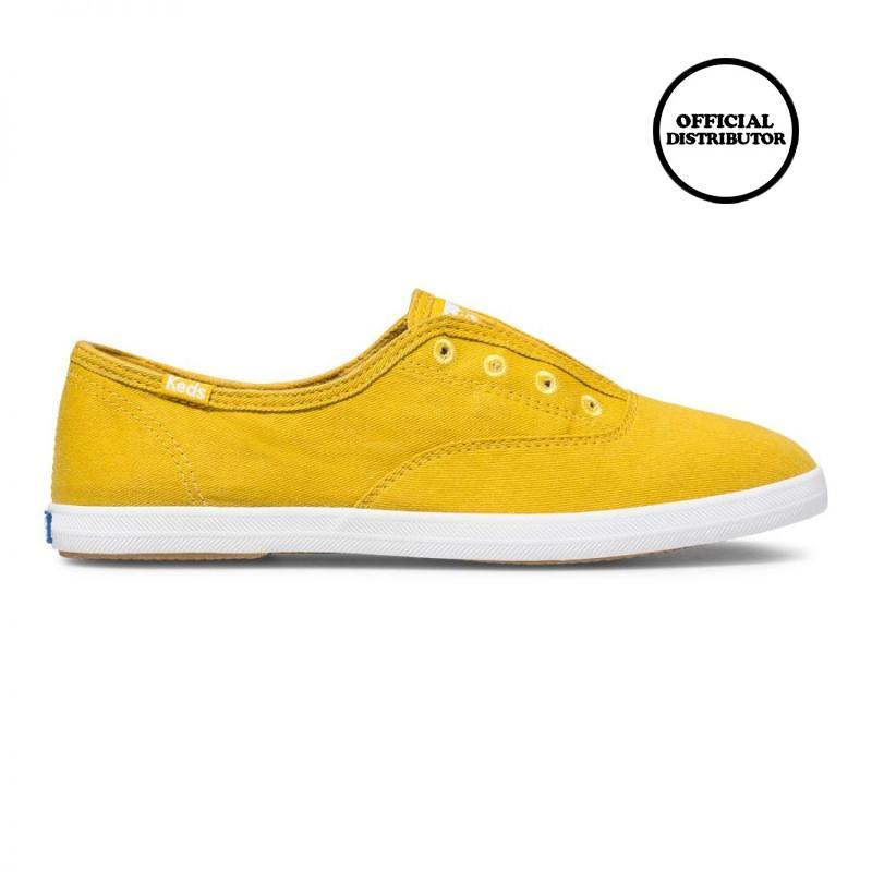 √ Keds Chillax Seasonal Solids Sepatu Wanita - Lemon Curry Terbaru Agustus  2021 harga murah - kualitas terjamin | Blibli