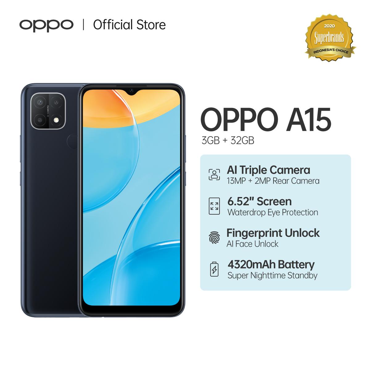 OPPO A15 Smartphone 32GB 3GB