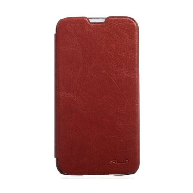 Kalaideng Enland Series Cokelat Leather Casing for Galaxy S5
