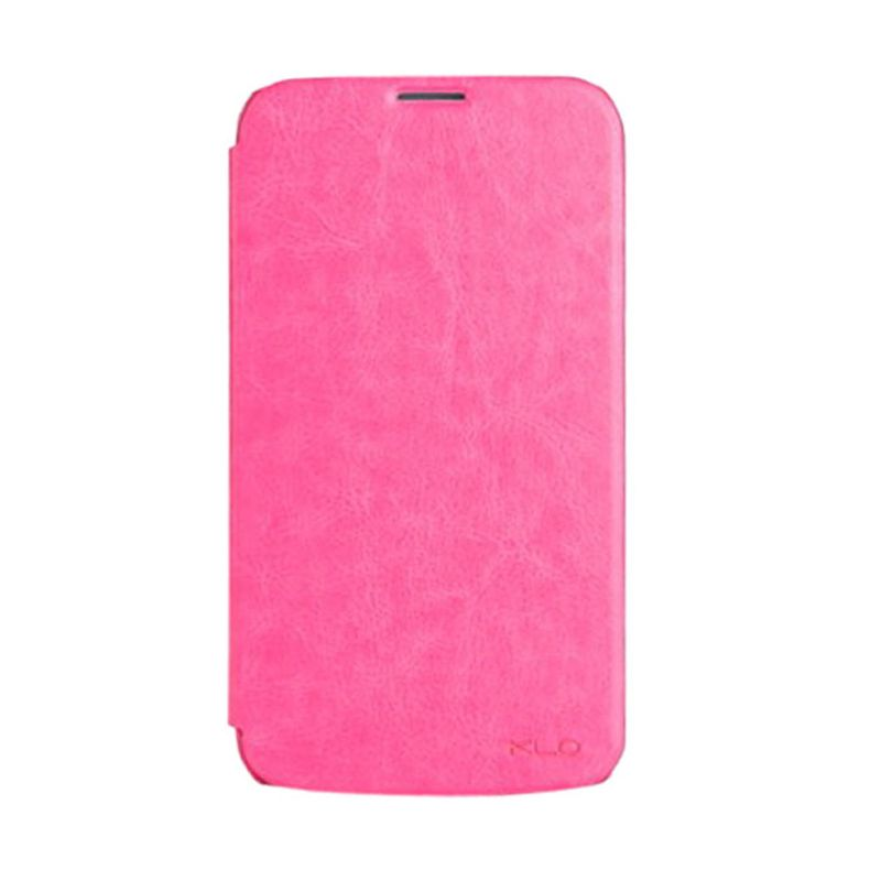 Kalaideng Enland Series Pink Leather Casing for Galaxy Mega 6.3