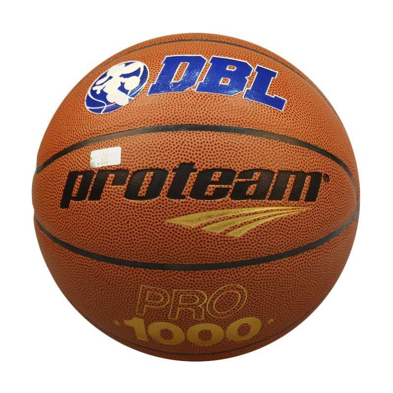 Proteam Pro 1000 Coklat Bola Basket Size 7