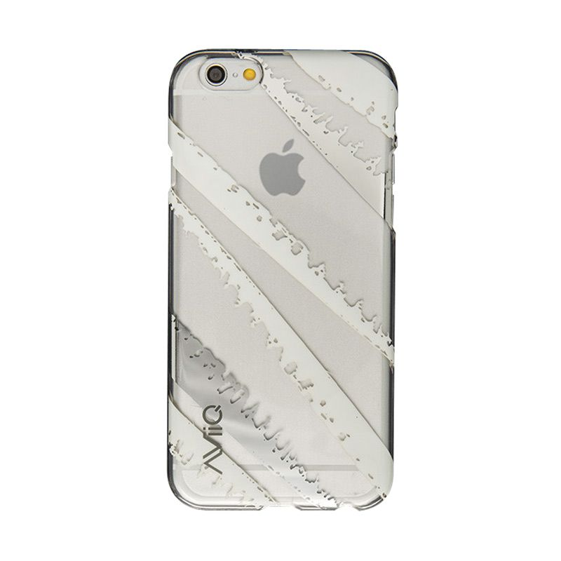 AviiQ Me WOW - White Silver Casing for iPhone 6