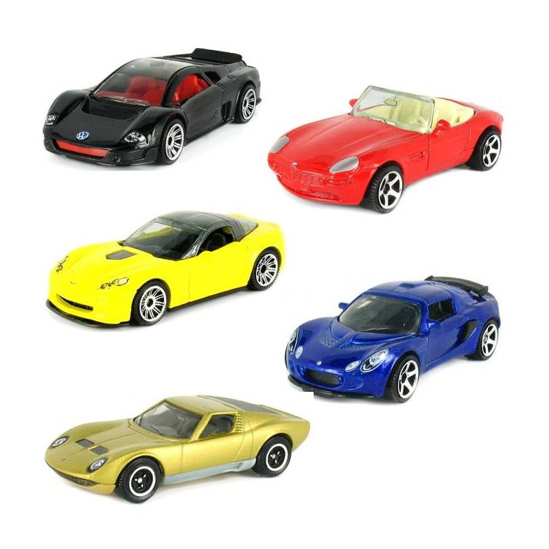 MATCHBOX Exotics Mainan Anak [5 Pcs]