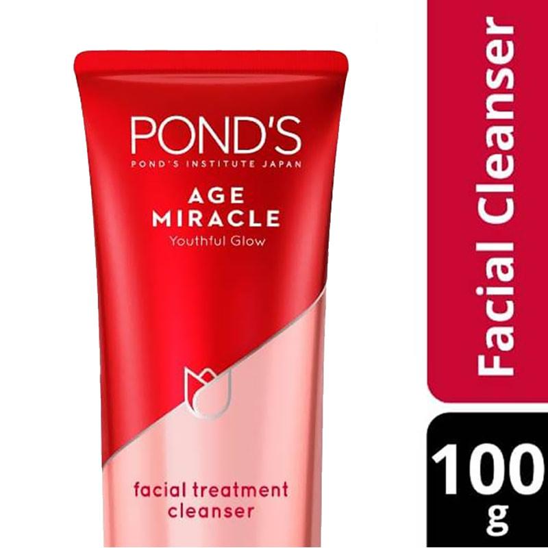 Ponds Age Miracle Youthful Glow Face Wash 100G kemasan baru