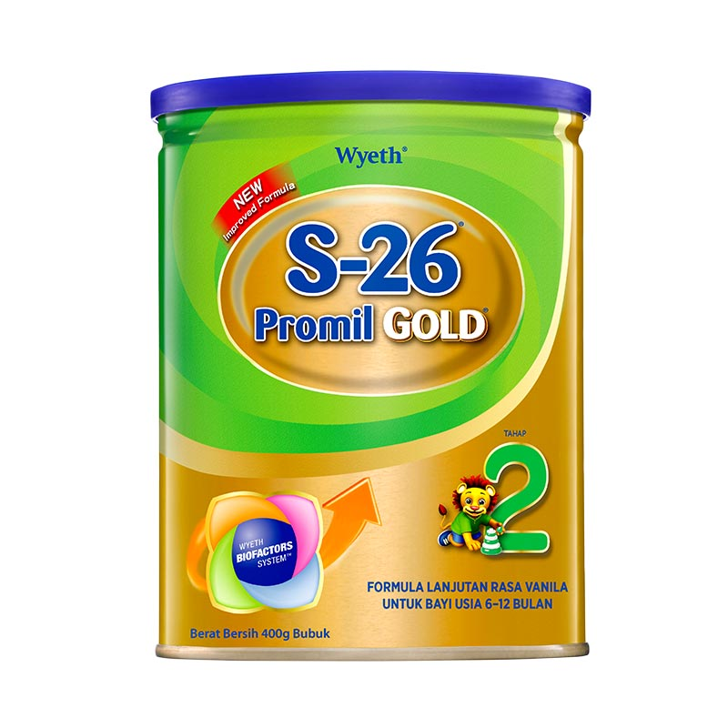 harga S26 Promil Gold Tahap 2 [400gr] Blibli.com