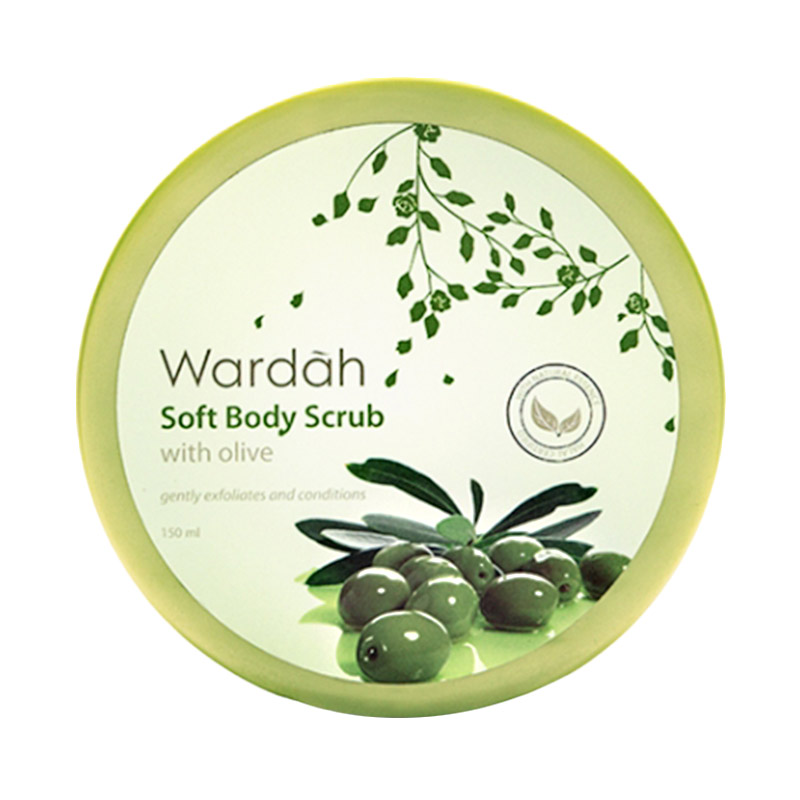 Wardah Soft Body Scrub with Olive Natural Essence [150 mL]