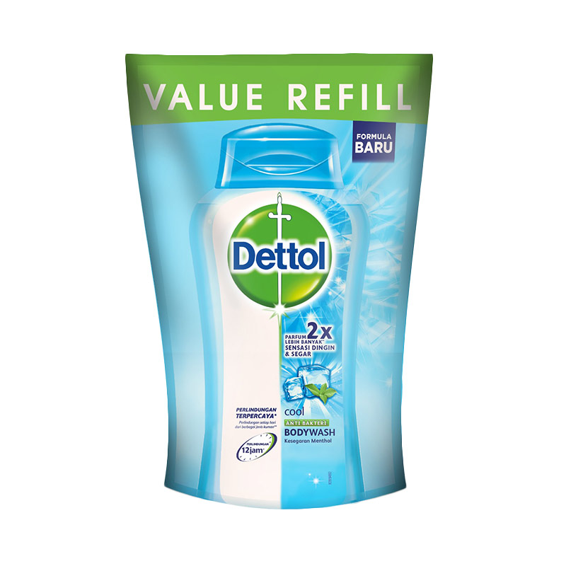 Dettol Pouch Cool Body Wash [450 mL]