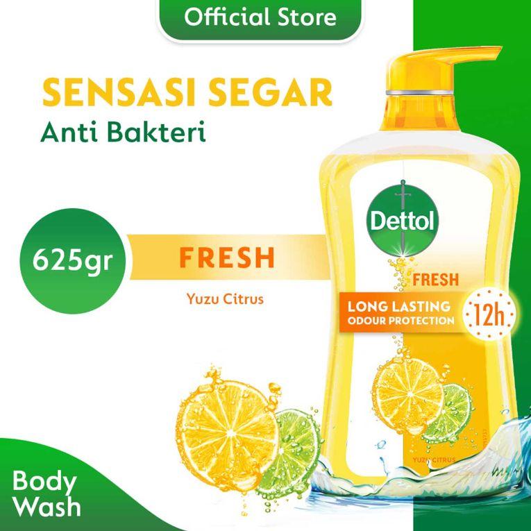 Dettol Bottle Fresh Body Wash 625 mL