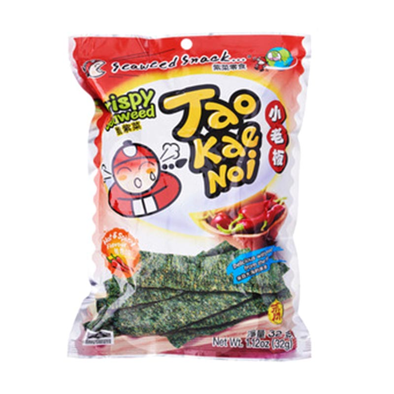 Tao Kae Noi Crispy Hot Spicy 32 g