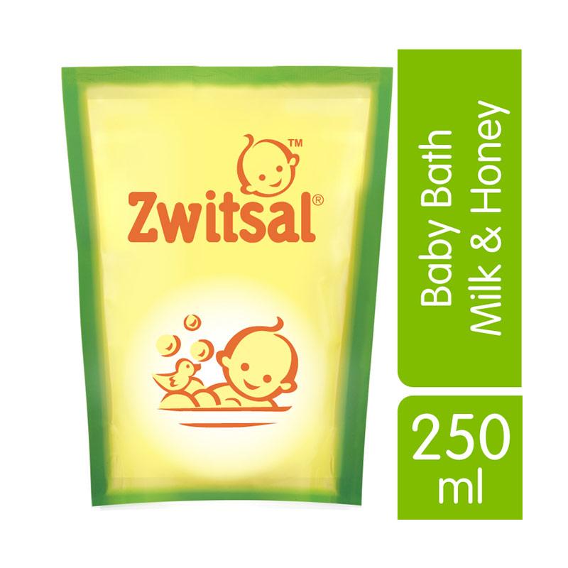 Zwitsal Baby Bath Milk & Honey 250ml - 21152535