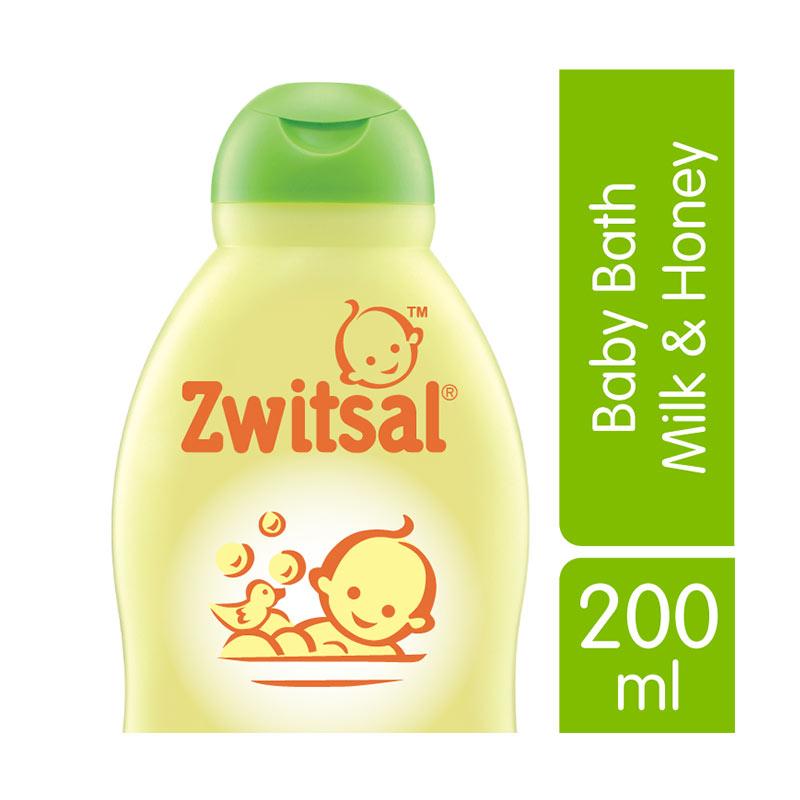 Zwitsal Baby Bath Natural Milk Honey 200ml - 21023187