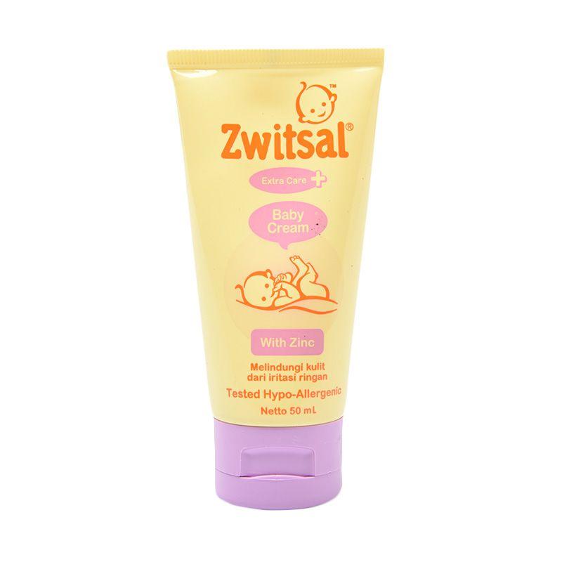Zwitsal Baby Cream Extra Care Zinc 50ml - 60024416