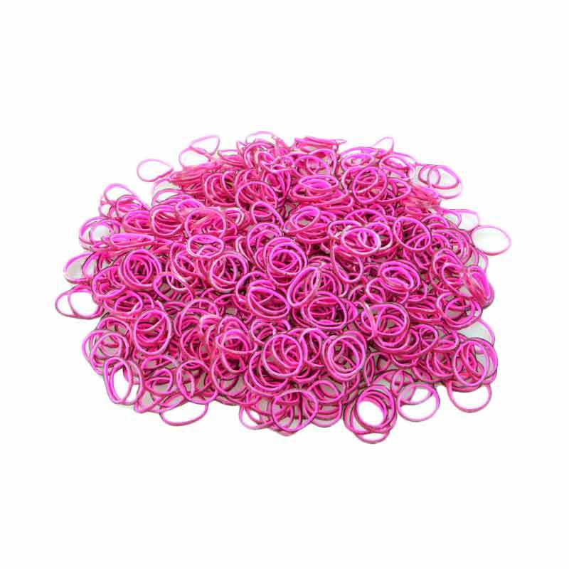 Loom Bands Layer Pink Hitam