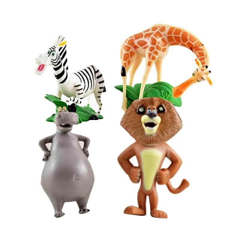 A1Toys Action Figure Madagascar Set