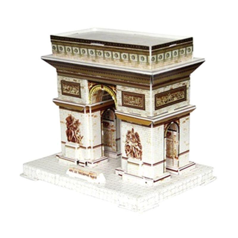 A1Toys Arc De Triomphe Paris Mainan 3D Puzzle