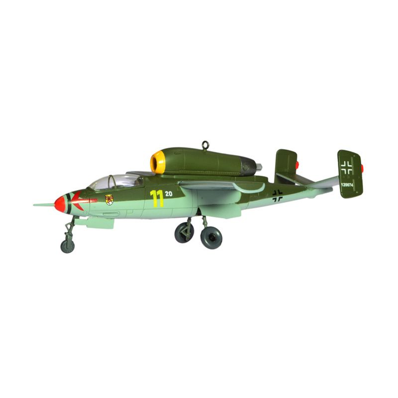 A1Toys Easy Model HE 162A-2 Volksjager JGI Pesawat Jet Tempur Diecast