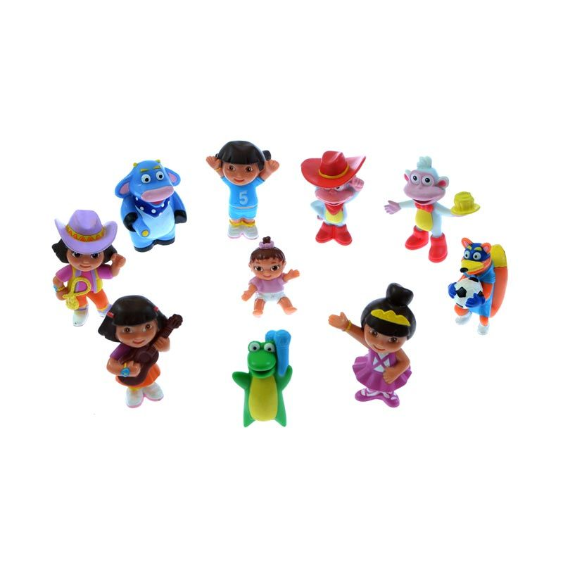 A1Toys Figurin Dora isi 10 Action figure
