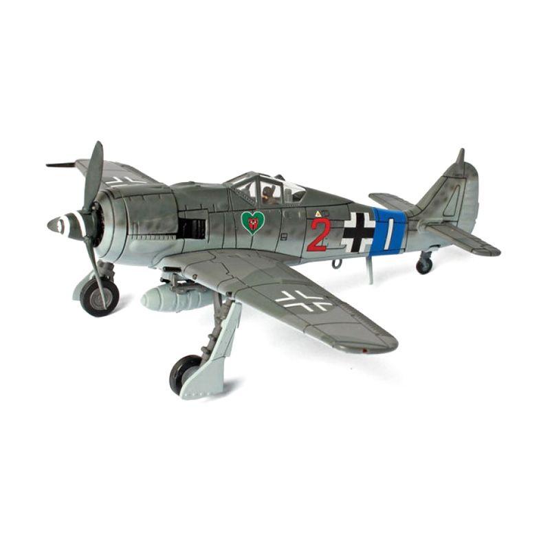 A1Toys Forces of Valor German FW 190A8 JG 54 France 1944 Pesawat Tempur Diecast