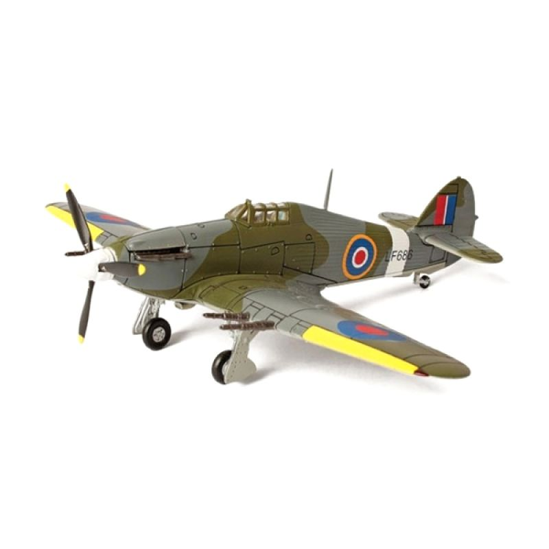 A1Toys Forces of Valor U.K. Hurricane Miniatur Pesawat tempur Diecast