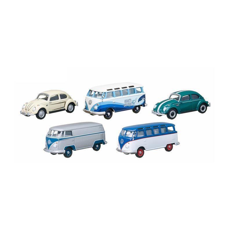 A1Toys Greenlight 5 Pcs Volkswagen Carwash Mobil Diecast