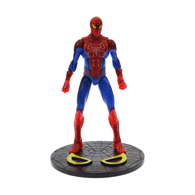 A1Toys Spiderman Biru Merah Action Figure [17 cm]