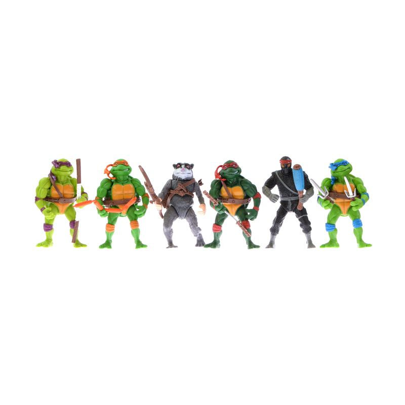 A1Toys Teenage Mutant Ninja Turtles Set Action Figure [6 Pcs]