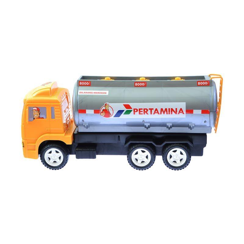 A1Toys Truk Tangki BBM PERTAMINA oranye