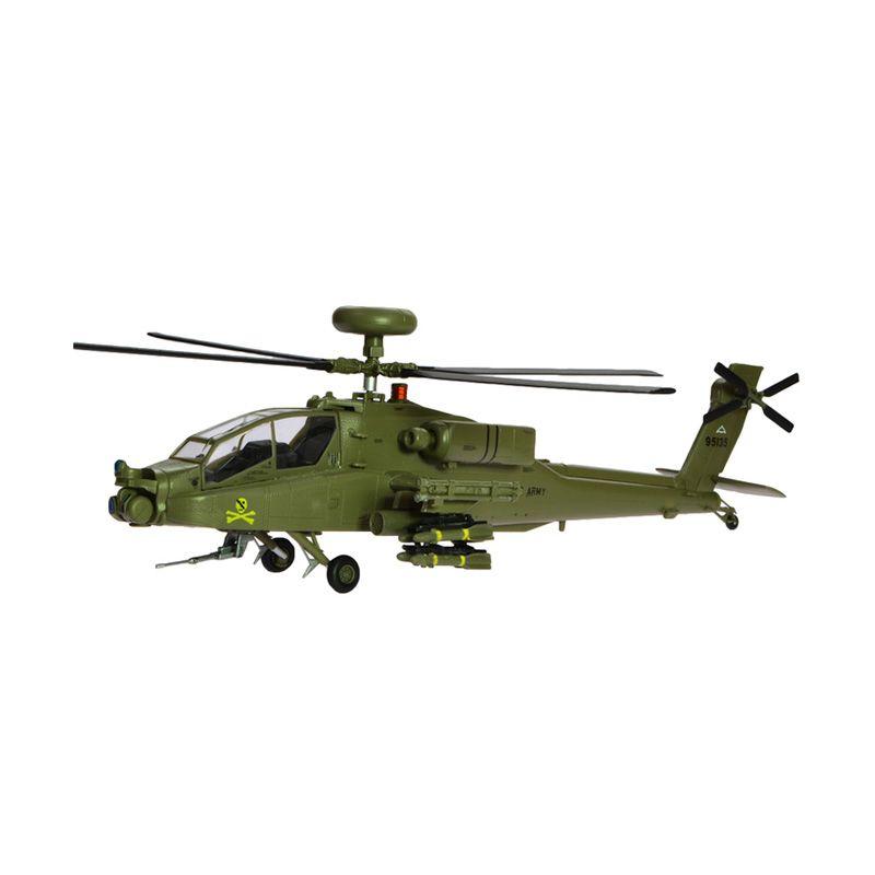 Easy Model AH-64D Apache 99-5135 US Army Helikopter Tempur Diecast