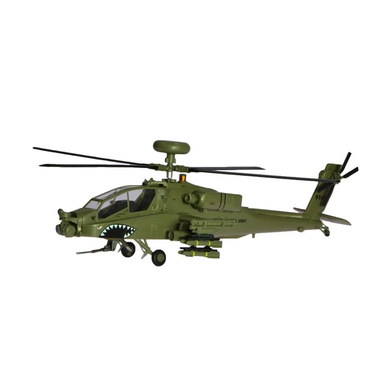 Easy Model Apache 99-5118 US Army Helikopter Tempur AH-64D Diecast