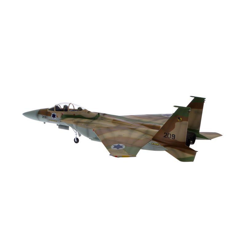 Pesawat Tempur Militer F15i Thunder IDF AF No.209 Easy Model 27cm 1:72