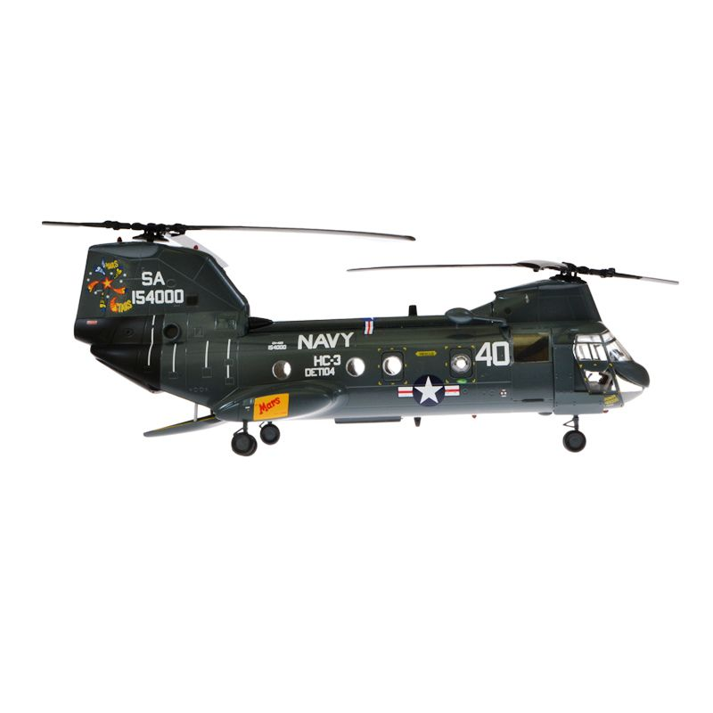 Easy Model Sea Knight USN Helikopter Tempur CH-46D Diecast