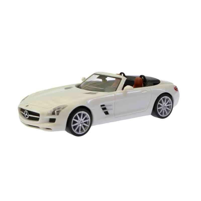 Herpa Mercedes-Benz SLS AMG Roadster White Diecast