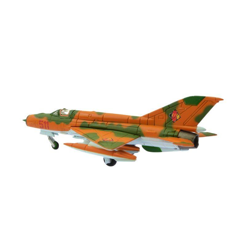Herpa Mikoyan MiG-21MF NVA / LSK JG-1 Pesawat Tempur Diecast