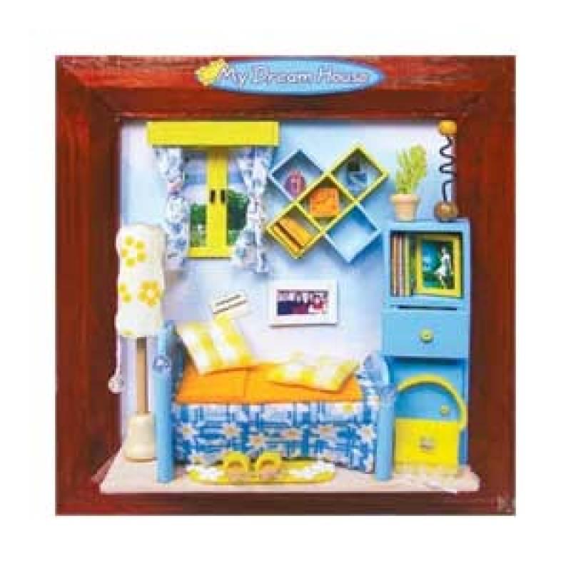 Hongda pigura 3 dimensi DIY-art and craft-My Dream House