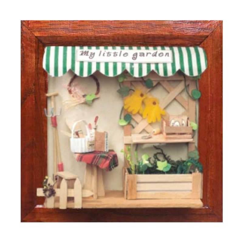 Hongda pigura 3 dimensi DIY-art and craft-My Little Garden