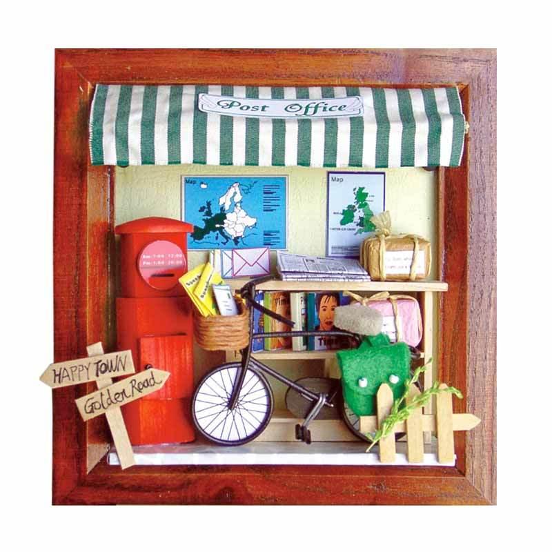 A1Toys Pigura 3 Dimensi DIY Kantor Post PO