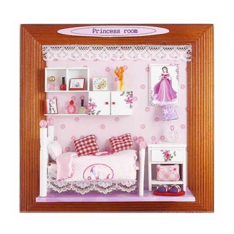 Hongda pigura 3 dimensi DIY-art and craft-Princess Room
