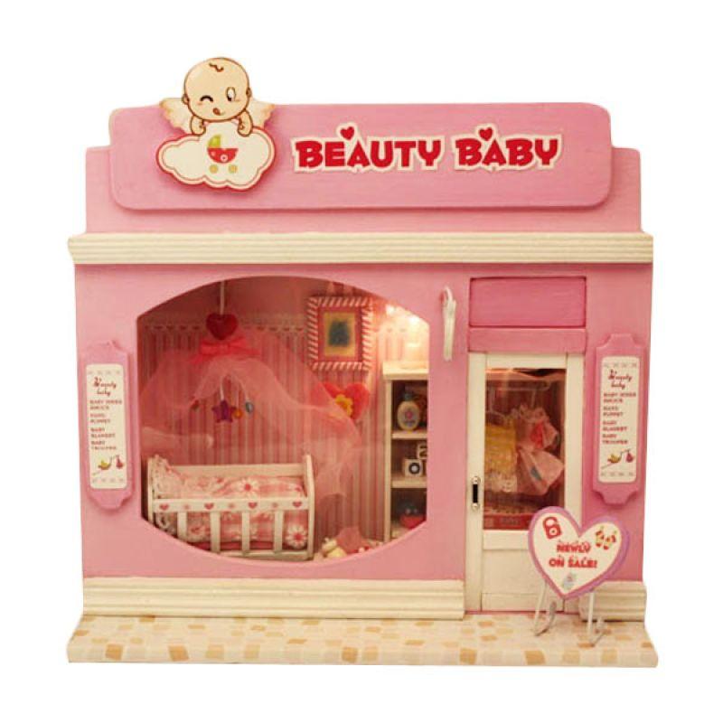 Hongda rumah miniatur DIY-art and craft-Beauty Baby