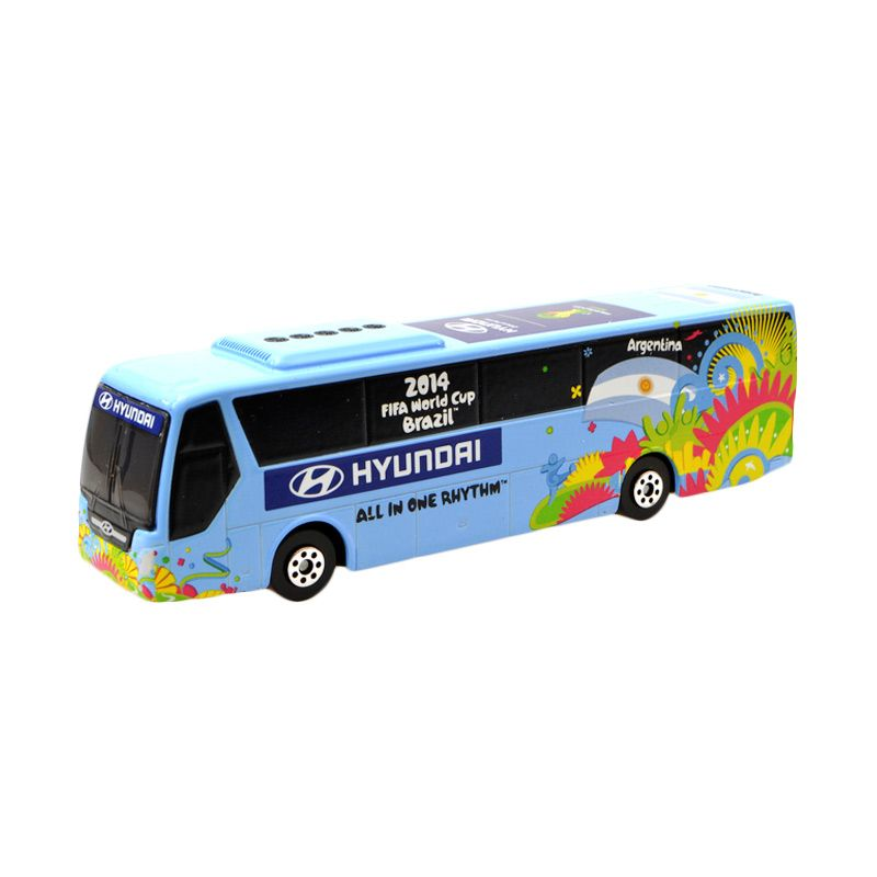 Hyundai 2014 FIFA World Cup ARGENTINA National Team Hyundai Bus Diecast