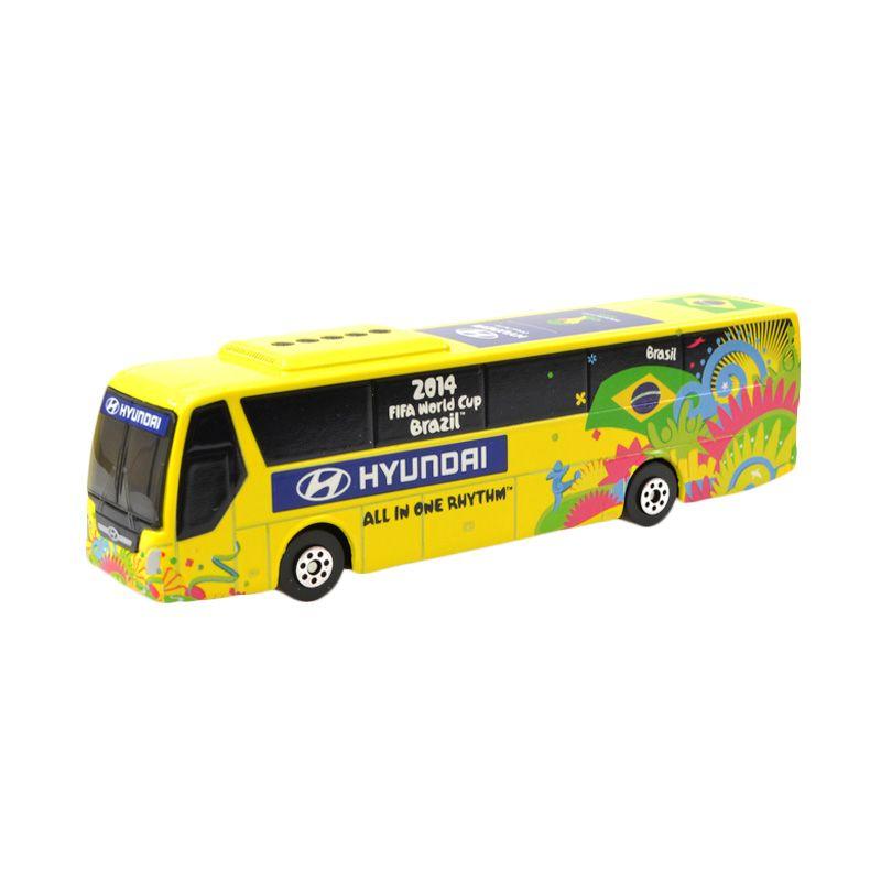 Hyundai 2014 FIFA World Cup BRAZIL National Team Hyundai Bus Diecast