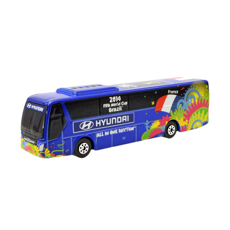 Hyundai 2014 FIFA World Cup FRANCE National Team Hyundai Bus Diecast