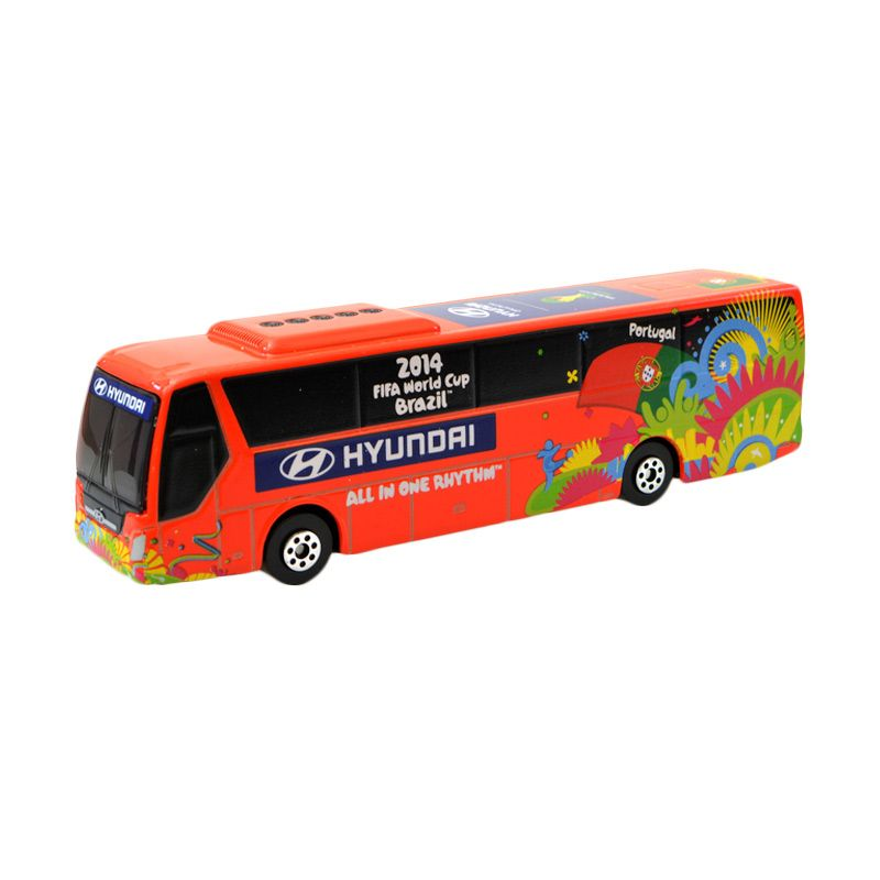 Hyundai 2014 FIFA World Cup PORTUGAL National Team Hyundai Bus Diecast