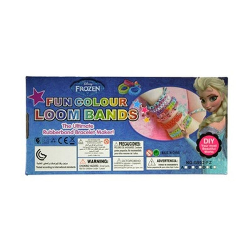 LOOM BANDS Rainbow Loom Frozen Starter Kit Lengkap